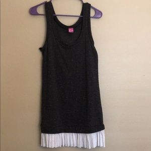 Tres Bien Brown Sweater Tunic Dress Size Large